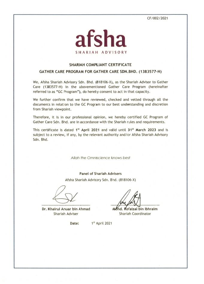 sijil syariah 2